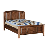 Carson Solid Maple Amish Bed