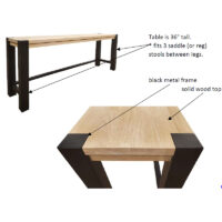 t-167236 Chicago Counter Table